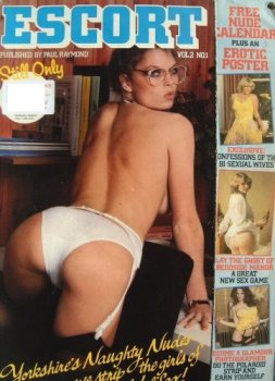 Cover girl Julia Jones became Escort Magazines Secretary