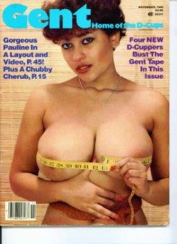Cover shot of Gent 1985 November